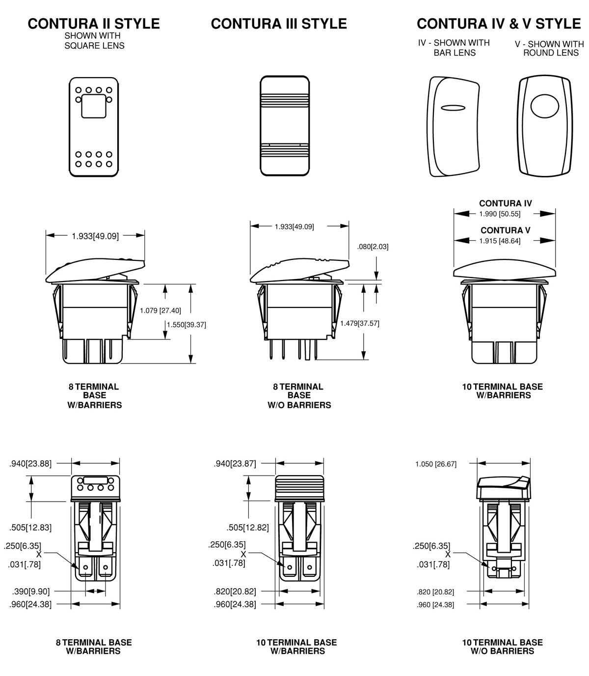 Carling Rocker Switches Baja Boat Electrical Schematic